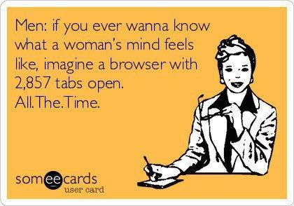 woman's mind